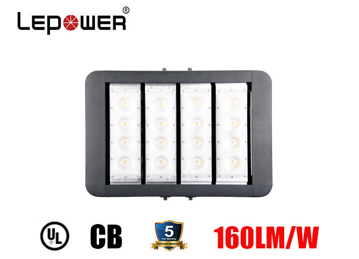 Football Court High Power LED Flood Lights 200W 10 Degree COB LED Optical Lens IP66 IK10